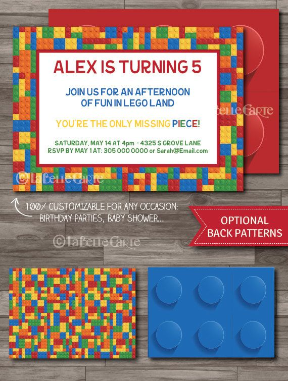 21 best jacksons party images on pinterest birthdays lego lego invitation lego party lego birthday party invitations lego movie party invitations filmwisefo