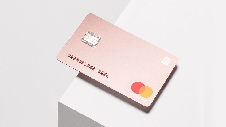 Blond created a bank card that forgoes decoration and embellishment in favour of a minimal look for premium customers of Revolut