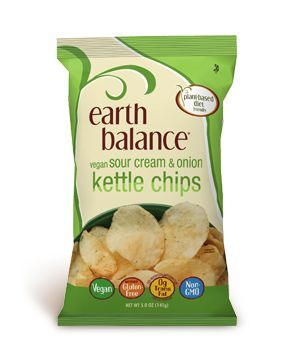 Vegan Sour Cream & Onion Kettle Chips | Earth Balance