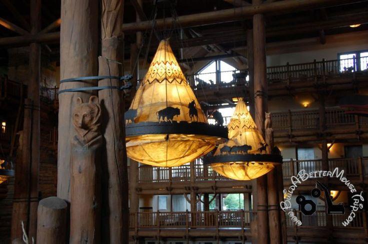 Disney's Wilderness Lodge - Lobby Chandaliers.: Lobbies Chand, Home Lights, Rustic Lights, Rustic Logs, Disney Vacations, Bright Lights, Disney Wilderness Lodges, Disney'S Wilderness Lodge, Interiors Lights