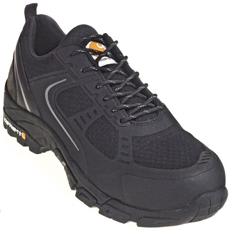 Carhartt Boots Insite Steel Toe Lightweight CMO3251 Men's Low Black EH Work Hiker Boots