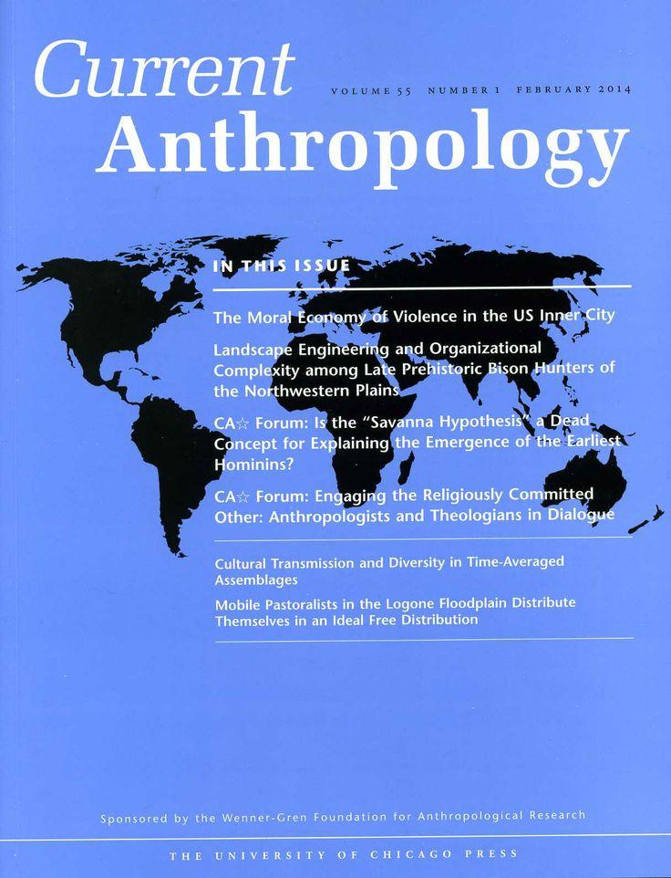 Current anthropology v. 55, nº 1 (2014)