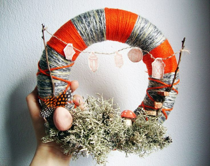 Woodland Folk's wreath!