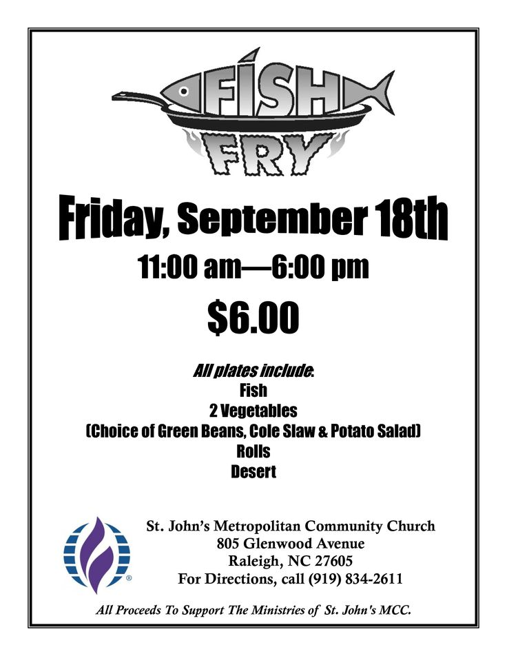Free Fish Fry Flyer Templates Fish Fry Poster Fish