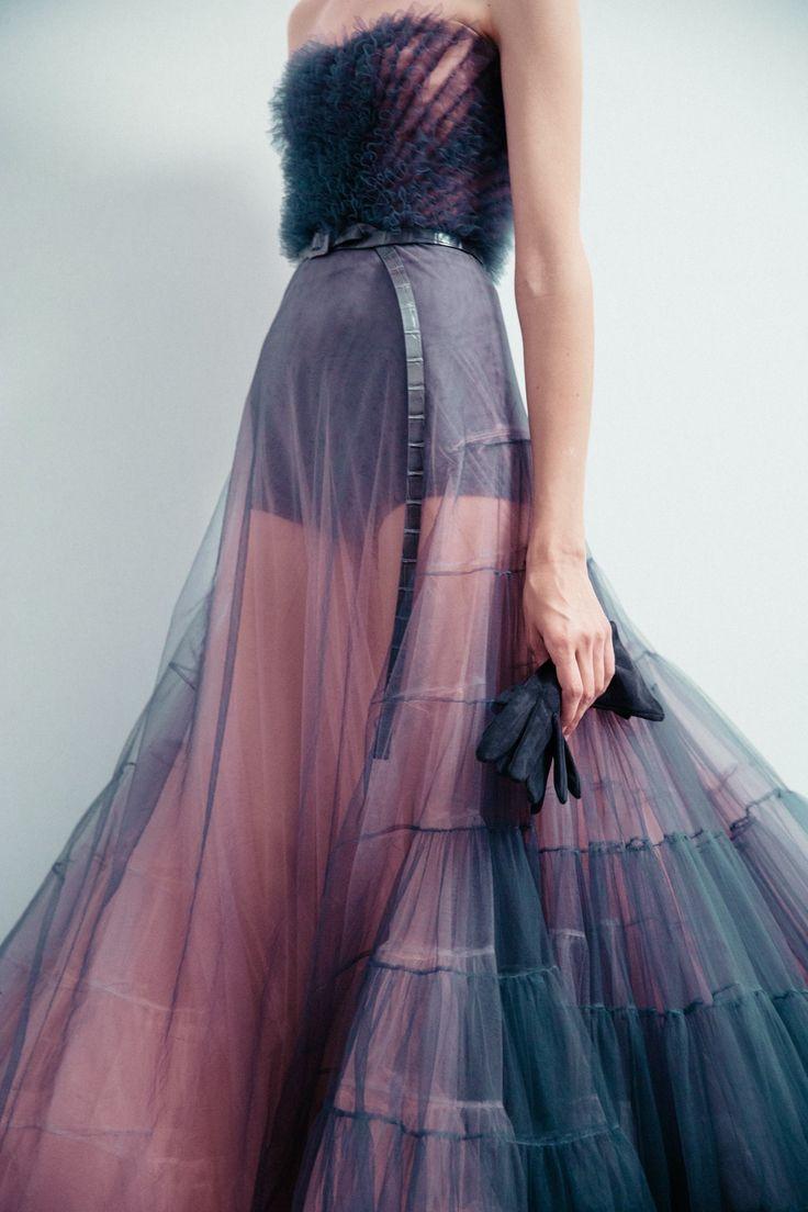 Dior Fall 2017 Haute Couture  Natalia Trnkova