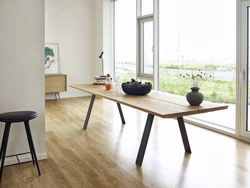Moderner Tisch aus Holz und Metall GM 3200 Naver collection