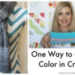 One Way to Change Color in Crochet