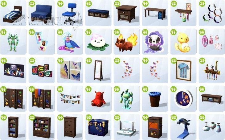 Sims 4 Kinderzimmer Accessoires sims 4 kinderzimmer