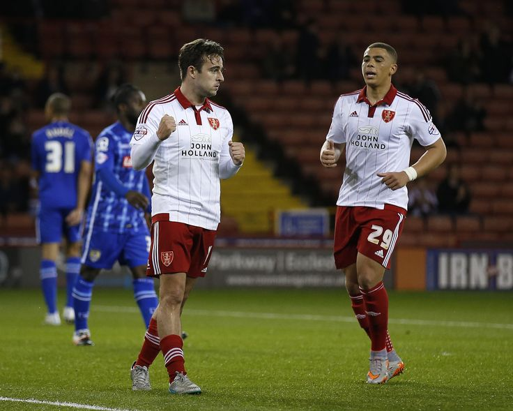 Sheffield united score 5 past Notts County in the second round of the Johnstone's Paint Trophy