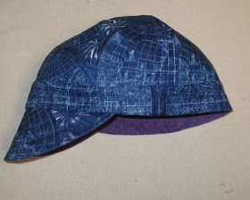 Welding cap pattern and instructions.  Must try soon