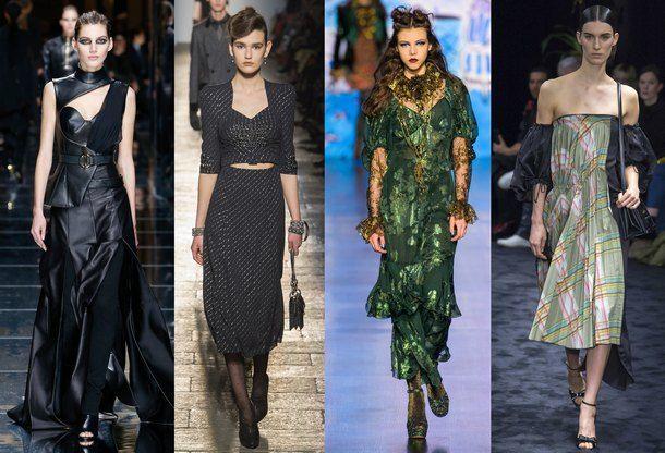 Модные женские платья сезона «Осень-2018» - http://god-2018s.com/moda/modnye-zhenskie-platya-sezona-osen-2018