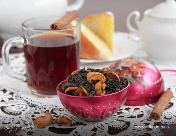 Мягкий ароматный чай обязательно взбодрит вас утром и поддержит тонус в течение дня!