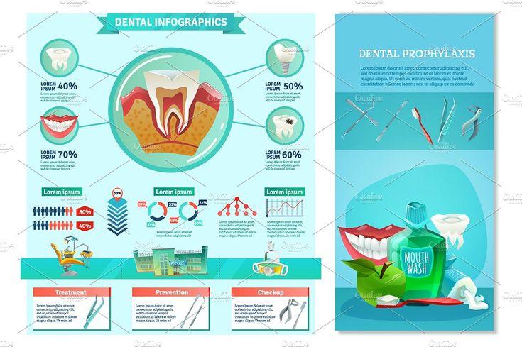 Dentist Cartoon Set - Illustrations - 5
