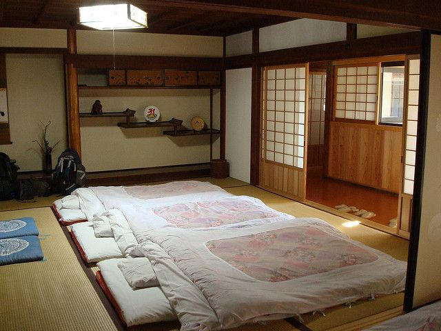 Futon is interesting you can move it easily and empty the room for other activities