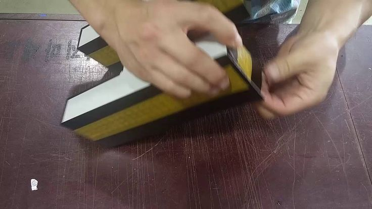 LED Channel Letter Fabrication & V-cut machine