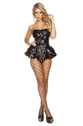 I really like this Dark Angel Halloween Costumes.  Roma Costume Women's 1 Piece Dark Angel
