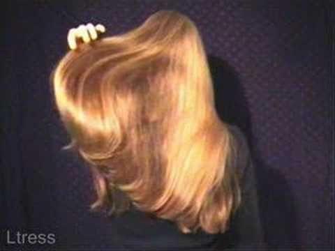 very very very very very very very silky long blonde hair ...