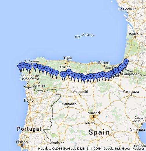Camino de Santiago - Camino Frances - The Way of St. James - The Frech Way or Inner Way