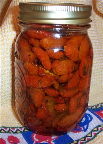 Italian oven-dried Tomatoes in Olive Oil (Refrigerator)