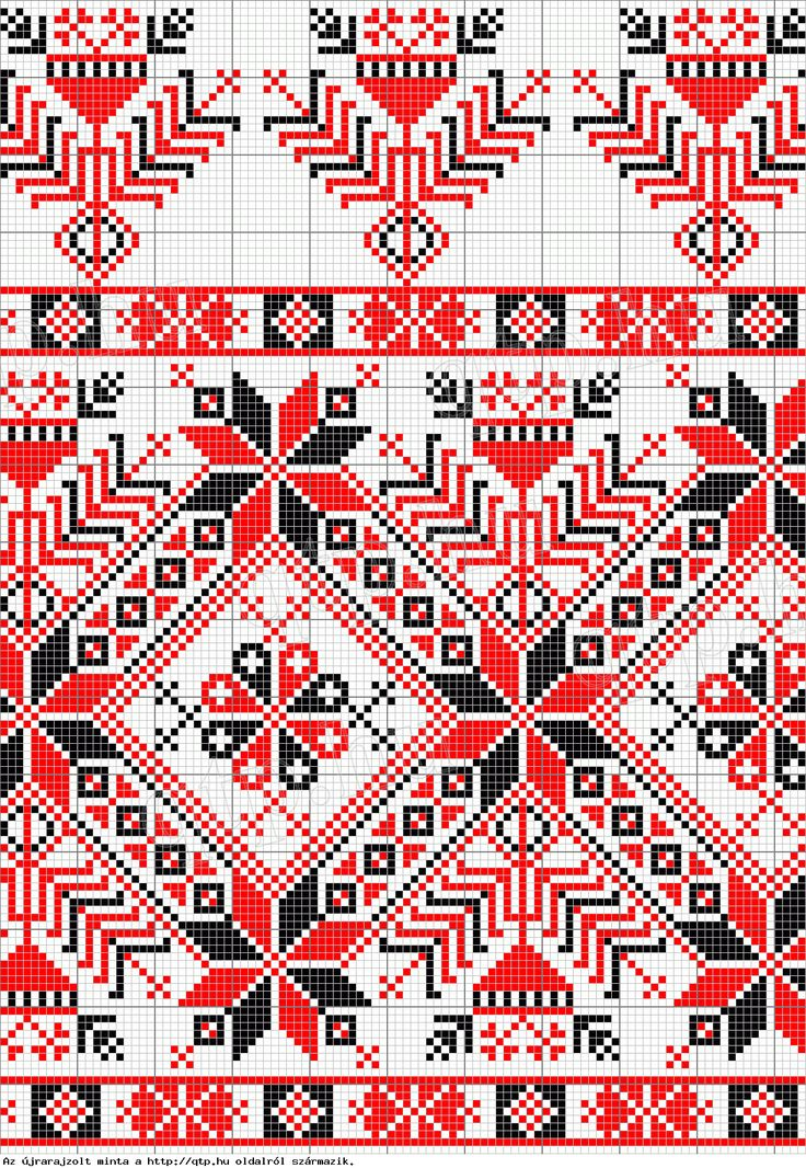 Hungarian stichery - several free cross stitch patterns on this website - qtp.hu