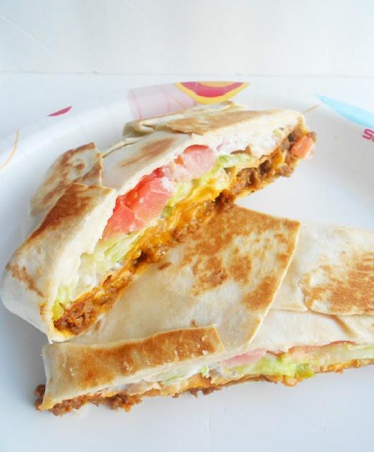 Homemade crunchwrap supreme.  I will never not love Taco Bell.