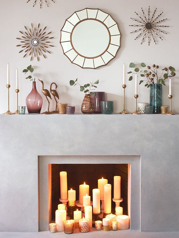 16 Of The Most Beautiful Fireplaces That Don't Actually Work