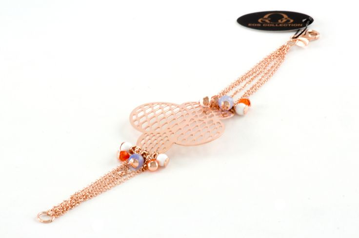 ewel woman silver 925 - Shop on-line in www.eosbijoux.com bracciale in argento, pietre agata, jelementi in argento, silver bracelet, finitura oro dosè, gold colour, bracciale a cerchio, circle shaped. agata stone, fashion jewelry, elegant colour jewel