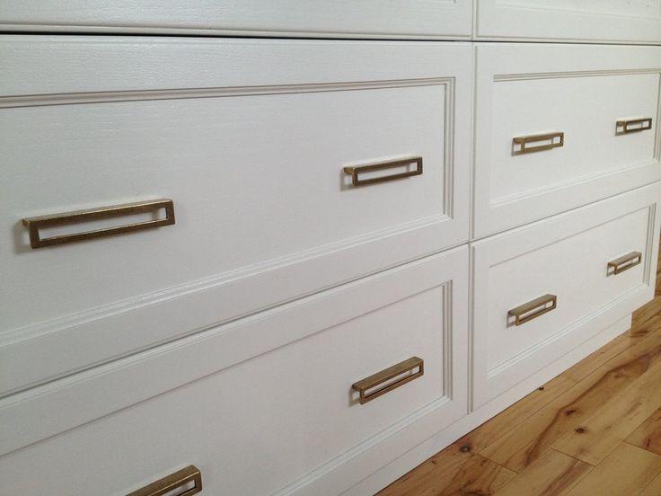 Linea Antique Drawer Pulls - Cabinet Handles