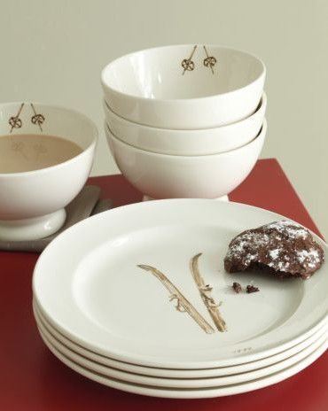 Dishes for ski cabin  Rustic Lodge Style