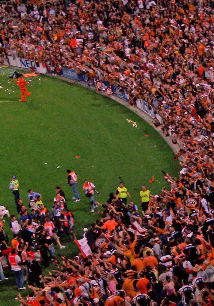 2005 NRL Grand Final - Orange Crush