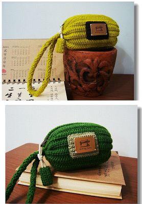 Patrones Crochet: Bolso Cilindrico de un trozo de Crochet