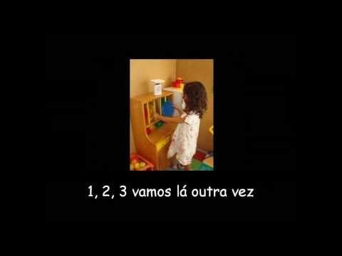 Músicas para o Jardim de infância - Canção para arrumar a sala (Nova versão) - YouTube