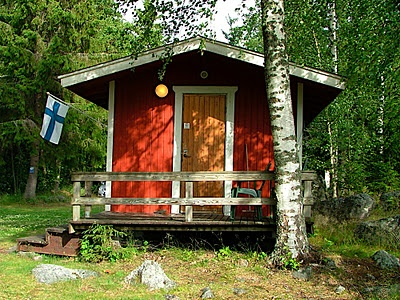 The classic Finnish sauna.
