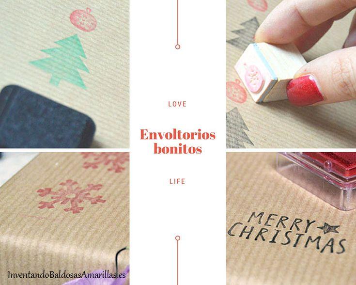 Ideas para envoltorios de regalos