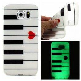 Samsung Galaxy S7 piano silikonisuojus.