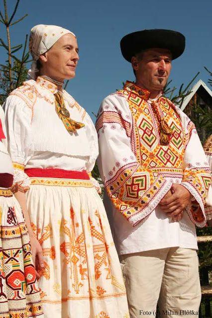 FolkCostume: Costume of Čičmany and vicinity, Slovakia