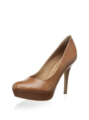 68% OFF Corso Como Women's Hollen Platform Pump (Luggage Calf)