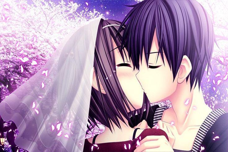 Những hình ảnh đẹp về tình yêu hoạt hình – Kiss love
