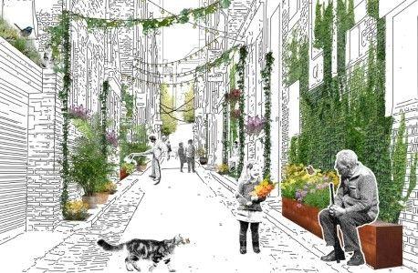 Designs released for Melbourne laneway transformation | Australian Design Review