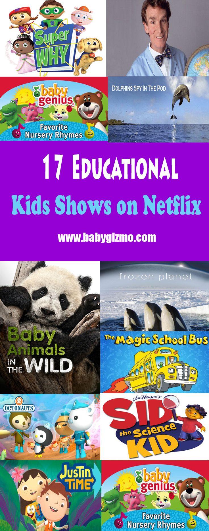 17 Educational Shows on Netflix #Educational #Netflix