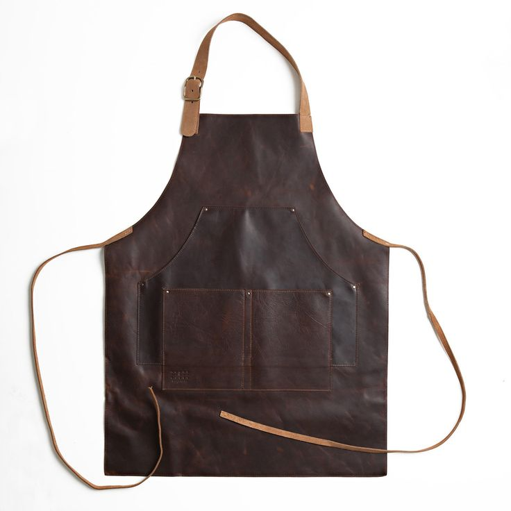 Leather Work Apron - I guess one could also upcycle jeans for that