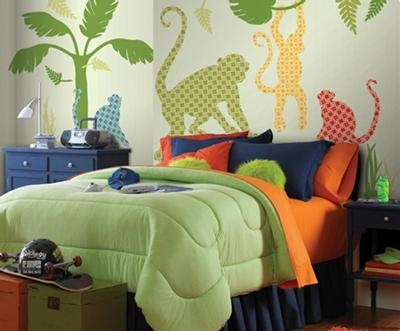 Retro Jungle theme bedroom These Retro jungle theme wall stickers from  colorfulkidsworld   really makes. 17 Best ideas about Jungle Theme Bedrooms on Pinterest   Jungle