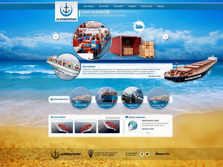 gemi-acenteligi-web-site-tasarimi - wed design - creative