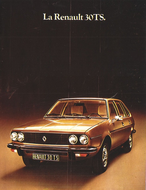1975 Renault 30 ✏✏✏✏✏✏✏✏✏✏✏✏✏✏✏✏ IDEE CADEAU / CUTE GIFT IDEA ☞ http://gabyfeeriefr.tumblr.com/archive ✏✏✏✏✏✏✏✏✏✏✏✏✏✏✏✏