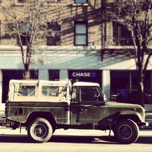 tdi... Defender diesel... mans car!