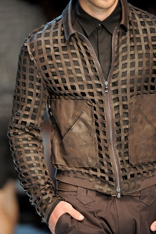 detail of Dolce and Gabanna jacket Love it
