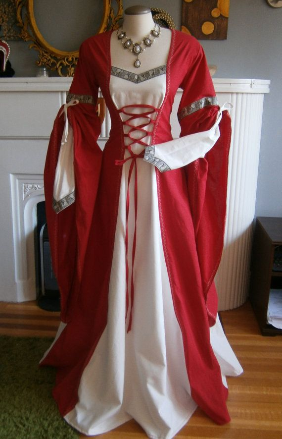 Hey, I found this really awesome Etsy listing at https://www.etsy.com/listing/230395299/medieval-dress-renaissance-gown-larp-and