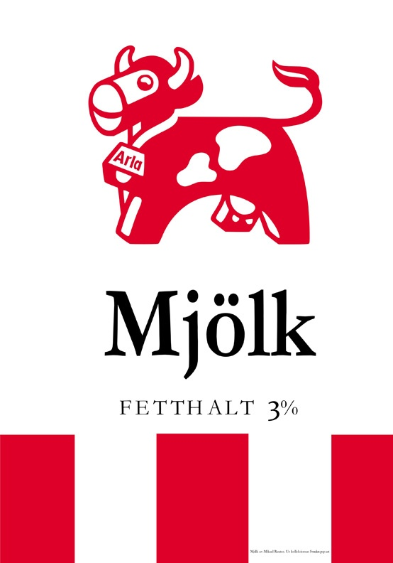 Arla Mjölk Poster (at huset-shop.com)