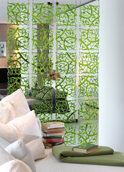 Great way to divide a room. Koziol Room Divider or Screen Element $7.29 each