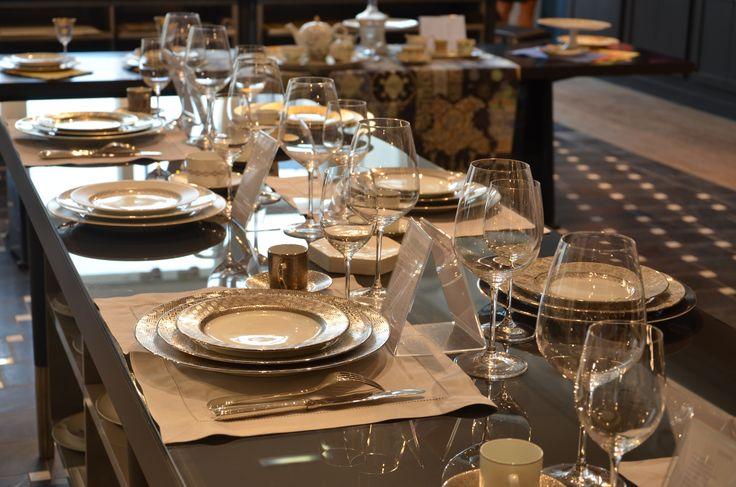 bernardaud collection torsade bernardaud porcelaine porcelain tableware tablesetting. Black Bedroom Furniture Sets. Home Design Ideas